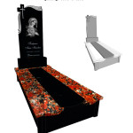 Памятник гранітний :Капуста+габро