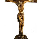 латунный хрест на памятник