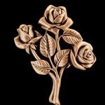 цветы из бронзы на памятник