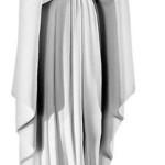Ритуальна скульптура Марії №125 розм:78,5*22,5*17