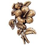 цветы из бронзы на памятник №1344 розм:15*10*1,5