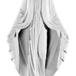 Ритуальна скульптура Марії №175 розм:75,5*41*15,5