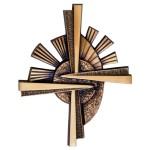Хрест на памятник №2014 розм:32*27*3