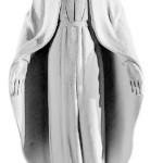 Ритуальна скульптура Марії №2047 розм:79,5*31*19,5