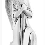 Ритуальна скульптура Ангела №2074 розм.43*16*22