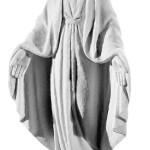 Ритуальна скульптура Марії №211 розм:35*15*9