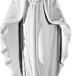 Ритуальна скульптура Марії № 2114 розм:41,5*17*8,5