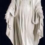 Ритуальна скульптура Марії №2185  розм:185*68*41