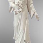 Ритуальна скульптура Ангела №220 розм:118*50*30