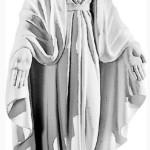 Ритуальна скульптура Марії №222 розм:97*40*24
