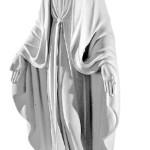 Ритуальна скульптура Марії №226 розм:73,5*29,5*19