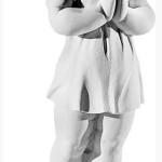 Ритуальна скульптура Ангела №2272  розм.46,5*31*13