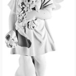 Ритуальна скульптура Ангела №232 розм.60*28,5*21,5