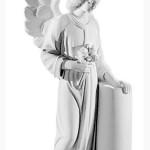 Ритуальна скульптура Ангела №2370  розм.40*22*14