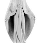 Ритуальна скульптура Марії №273 розм:78,5*36,5*20,5