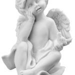 Ритуальна скульптура Ангела №2817  розм.14,6*9,6*5