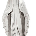 Ритуальна скульптура Марії №295 розм:118*50*22