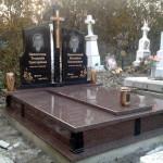 Памятник гранітний подвійний