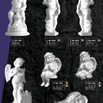 скульптура ритуальна Ангела