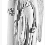 Ритуальна скульптура Ангела №308 розм.105*37*26