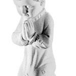 Ритуальна скульптура Ангела №349 розм.33,5*10*15,5