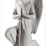 Ритуальна скульптура Ангела №353 розм,24,5*11,5*14