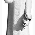 Ритуальна скульптура Ангела №383 розм.27*7*8