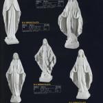 Скульптуры Богородицы