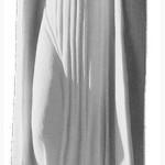 Ритуальна скульптура Марії №485 розм:60*17*15