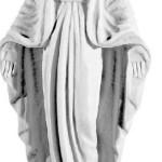 Ритуальна скульптура Ангела №5 розм:28,5*11,5*6,5