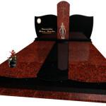 Надгробний Памятник гранітний на двох