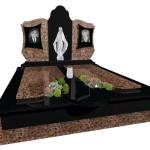 Памятник гранітний двійний