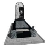 пам'ятник з граніту   для жінки