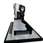 пам'ятник з граніту одинарний